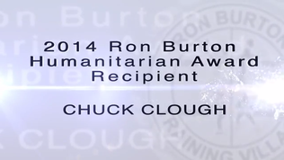 2014 Humanitarian Award Recipient Chuck Clough