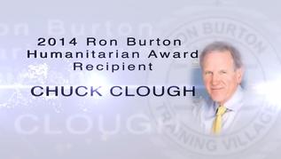 Chuck Clough-2014 Ron Burton Humanitarian Award Recipient